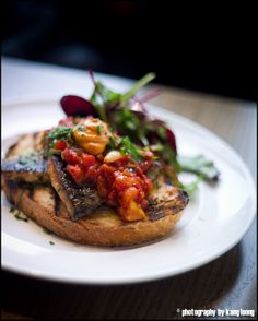 mackerel dish