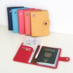 Monopoly Mini journey RFID blocking passport case ver.3 - fallindesign