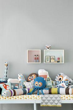 Ferm Living Cushions & Music Toys For Kids Casa Kids, Deco Kids, Nursery Neutral, Kid Spaces, Kids Decor, Boy Room, Room Inspiration, Kids Bedroom, Nursery Decor