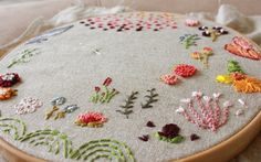 one person's doodles are another person's art-craft.  #embroidery #handmade