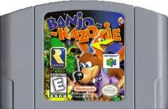 Banjo Kazooie - N64 Game Original Nintendo 64 game cartridge only. All DK's classic used games are cleaned, tested, guaranteed to work and backed by a 120 day warranty.