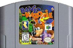 Banjo Kazooie - N64 Game