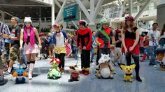 Taking Pokémon Cosplay To The Next Level - http://videogamedemons.com/events/taking-pokemon-cosplay-to-the-next-level/