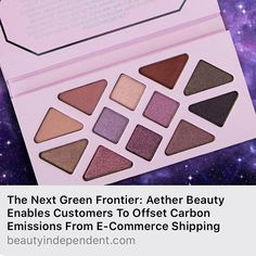 Rose Quartz Crystal Gemstone Palette by Aether Beauty #13