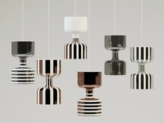 Chapiteau, the new lamps collection by Ekaterina Elizarova for Bosa at 100% Design