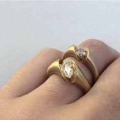 Trendy Female Adjustable Opening  Band Index Midi Ring Finger Rings Trinket C