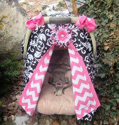 Etsy --- car seat canopy