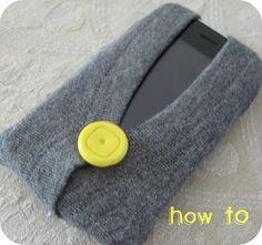 Iphone case cardigan