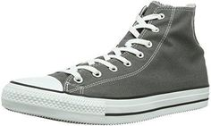 Converse All Star X-Hi Zip Suede - para Hombre, Iron/Black, Talla 36