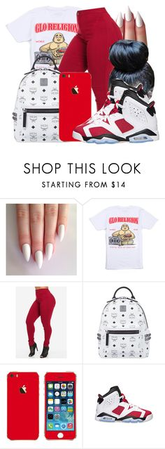 """Untitled #1527"" by honey-cocaine1972 ❤ liked on Polyvore featuring MCM and Retrò"