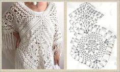 Irish Lace, Crochet Top, Crochet Jumpers, Girls Sweaters, Crochet Clothes, Crochet Projects, Crochet Patterns, Stitch, Knitting