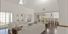 Den Vita Drömgården: Ett New Englandhus i Norge