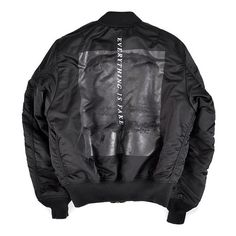 Everything is fake bomber jacket