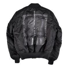 Everything is fake bomber jacket