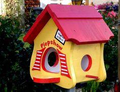 Nistkästen & Vogelhäuser - Vogelhaus Vogelvilla mit Futterdepot - ein Designerstück von wolle1197 bei DaWanda