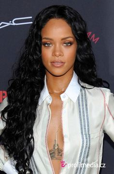 Awesome Rihanna Long Black Curly Hair Long Hair Pinterest Hair Hairstyles For Men Maxibearus