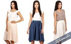 Zwiewna, asymetryczna spódnica do kolan. Dostępna u nas w 3 uniwersalnych kolorach :) http://styliamoda.pl/home/4339-asymetryczna-spodnica-do-kolan.html#/rozmiar-s/kolor-pomaranczowy