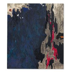 Clyfford Still signed 'Still' (on the reverse) oil on canvas 69 x 59 in. x cm.) Painted in Clyfford Still, Historical Art, New Artists, Abstract Expressionism, Abstract Art, American Artists, Yorkie, Oil On Canvas, Pop Art