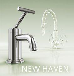 Jado New Haven  Mit einer makellosen und geraden Kontur als Gestaltungsprinzip und dem außergewöhnlichen Mischhebeldesign ist NEW HAVEN eine markante Erscheinung in jedem Badezimmer. Zeitgenössische Architektur in eigenständiger, unverwechselbarer Ausprägung.