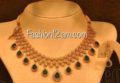 Diamond Studded Choker Necklace Designs