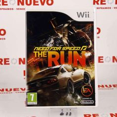 Videojuego NEED FOR SPEED THE RUN para WII E268355 de segunda mano #needforspeed #videojuego #segundamano
