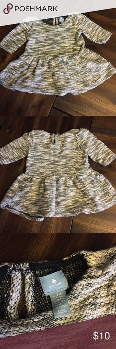 GAP Sweater Dress Black, white and gray with a little sparkle!  This GAP dress is so cute over leggings or a pair of skinny jeans!  Size 18-24 and in excellent shape! Bundle and save 20%!! GAP Dresses Formal
