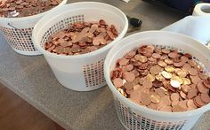 11,000 pennies which were handed over by Stephen Coyle to pay his parking fine