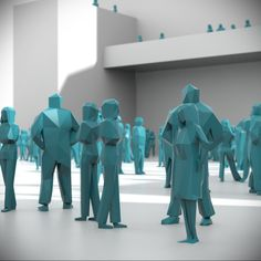 Low Poly People Pack 01 3D Model | Download Royalty Free People 3D Models - 3D Squirrel