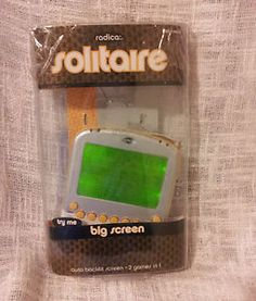 RADICA ELECTRONIC HAND HELD handheld SOLITAIRE GAME Still in package SHIPSFREE
