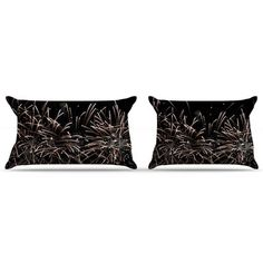 East Urban Home Fireworks by Catherine McDonald Pillow Sham Size: Standard