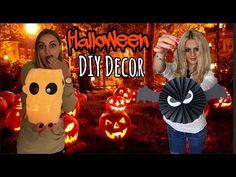 Halloween Gif, Lucky Girl, Diy Halloween Decorations, Pumpkin Carving, Diy And Crafts, Girls, Youtube, Ideas, Art