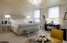 Hollywood Glam Bedroom II by FengShuiStyle, via Flickr