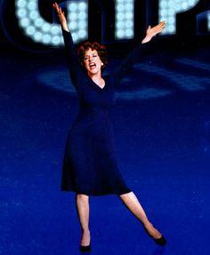 Patti Beveling in Blue!