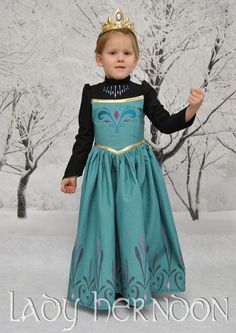 My Fairy Tale: Elsa's Coronation Dress from Disney's Frozen - Sizes 2T, 3T, 4T, 5, 6, 7, 8 and 10