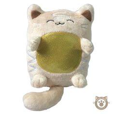 Purrista pawfee: cute danish pastry kitty cat plush
