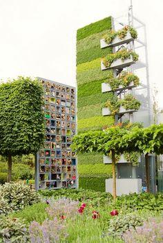 Paredes verdes de verdade - Obispa Design