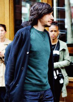 ben–skywalker:  Adam Driver on the Soho set of the TV show 'Girls' on April 17 2015 in New York City