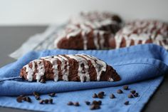 Double Chocolate Scones - Bake.Eat.Repeat.