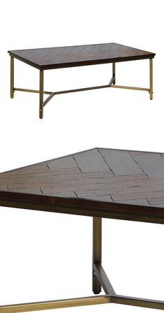 Make tea time an even classier affair with this handsome Carlton Coffee Table. Set on a sturdy, traditionally inspired, brass-finished metal base with a stretcher, this transitional table's true stando...  Find the Carlton Coffee Table, as seen in the Bohemian Meets Mid-Century Collection at http://dotandbo.com/collections/bohemian-meets-mid-century?utm_source=pinterest