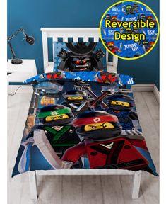 Lego Ninjago Movie Crew Single Duvet Cover and Pillowcase Set
