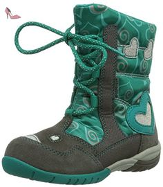 Superfit Sport3, Boots fille - Gris (Stone Kombi 06), 27 EU -