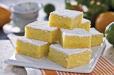 Supersaftiga läckerbitar med smak av apelsin och lime!