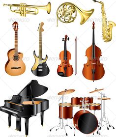 Musical Instruments Vector Set  #GraphicRiver         classic musical instruments photo realistic vector set   Zip file includes: - eps10, editable vector, RGB - jpg, 5656×6695 px, RGB - psd, RGB     Created: 27August13 GraphicsFilesIncluded: PhotoshopPSD #JPGImage #VectorEPS Layered: Yes MinimumAdobeCSVersion: CS Tags: acoustic #audio #band #bass #drum #electric #frenchhorn #glossy #guitar #horn #icon #instrument #isolated #jazz #music #musical #musician #orchestra #photorealistic #piano…