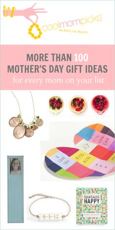 Mothers Day Gift Guide - 100 gift ideas for mom | Cool Mom Picks