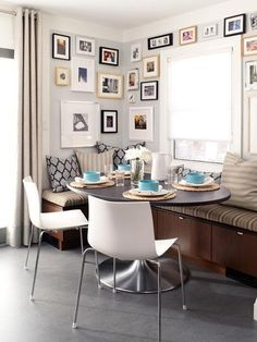 Make Room for Breakfast: Banquette Style