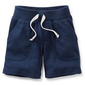 xHe'll zoom into play in these comfy shorts.  They're ready for all kinds of fun and keep their color wash after wash.