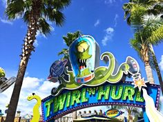 Guide to Kang And Kodos' Twirl 'N' Hurl, a Simpsons themed ride in Universal Studios Florida in Orlando Universal Studios Rides, Universal Studios Florida, What Is Like, Spin, Orlando, Park, Pictures, Photos, Orlando Florida