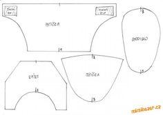 Vysoké capáčky | Mimibazar.cz Amelie, Diagram, Chart, Sewing, Tutorials, San, Facebook, Patterns, Google