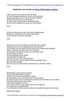 poezie gedichten melodie - Google zoeken