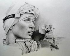 Биатлон. На огневом рубеже, автор Merkulova Nastia. Артклуб Gallerix